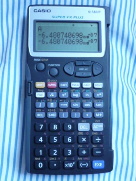 CASIOFX5800P
