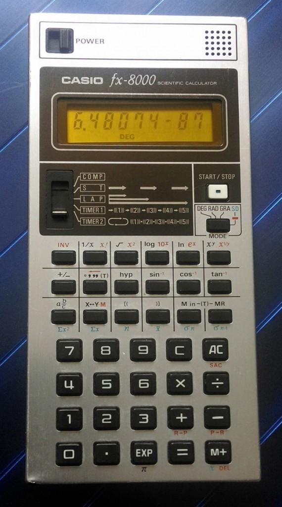 CASIOFX8000